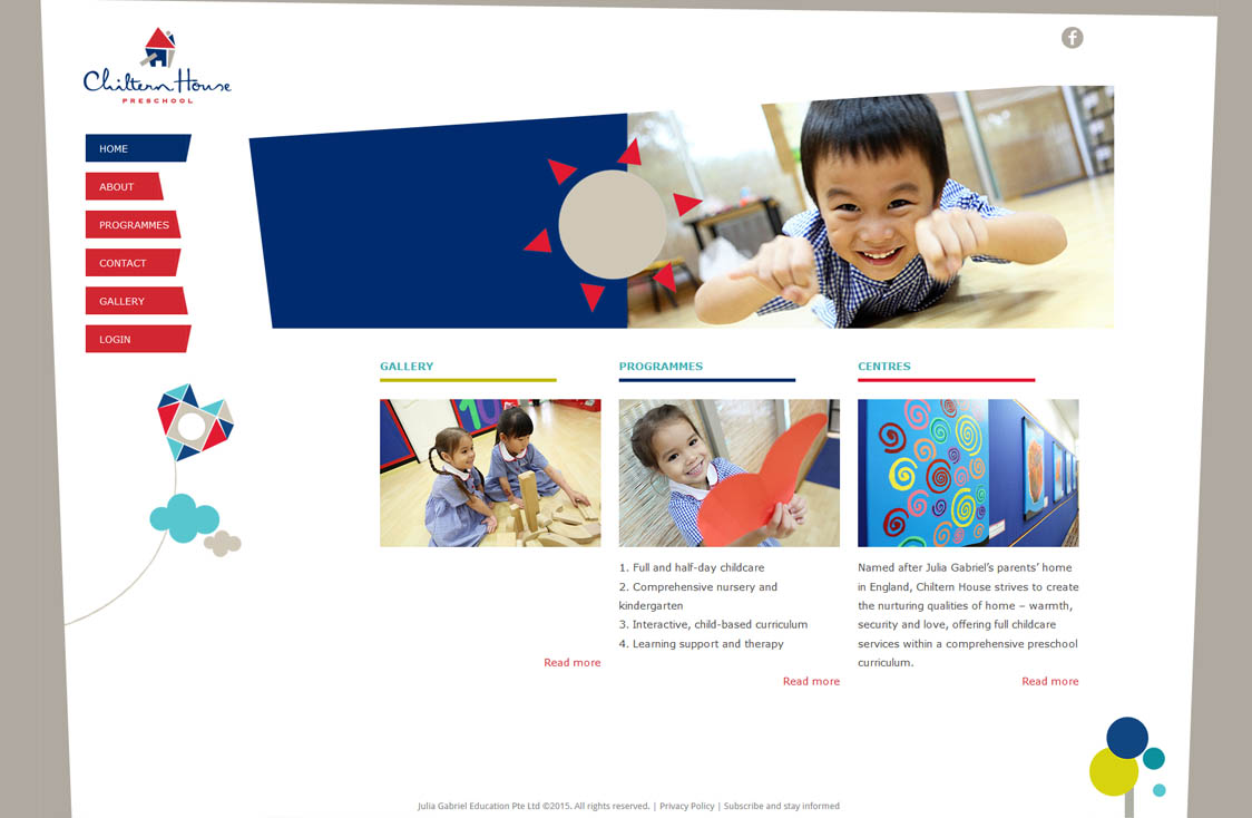 Customized Website Design & Development for Education