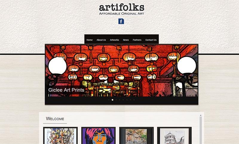 Website Design - Artifolks
